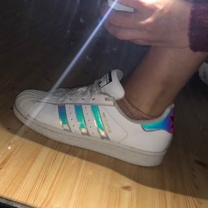 Holographic Adidas Superstar